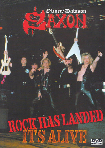 Saxon - Rock Has Landed - It's Alive DVD Movie