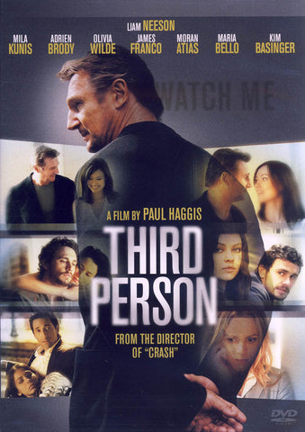Third Person DVD Movie