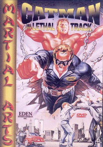 Catman in Lethal Track DVD Movie
