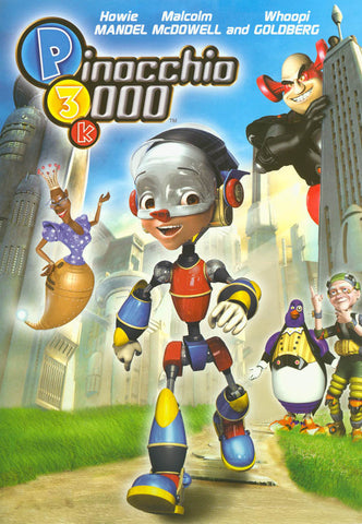 P3k - Pinocchio 3000 (LG) DVD Movie