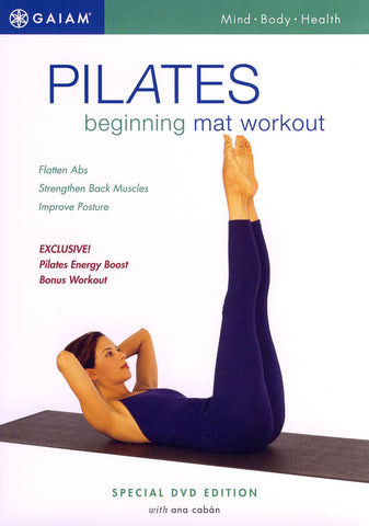 Pilates Beginning Mat Workout (White Cover) DVD Movie