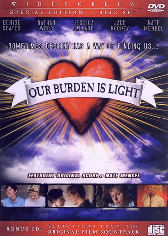 Our Burden Is Light (Special Edition) DVD Movie