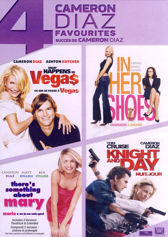 What Happens In Vegas / In Her Shoes / There's Something About Mary / Knight & Day (Boxset) (Bilingu DVD Movie