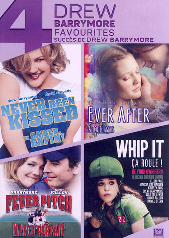 Never Been Kissed / Ever After / Fever Pitch / Whip It (Boxset) (Bilingual) DVD Movie