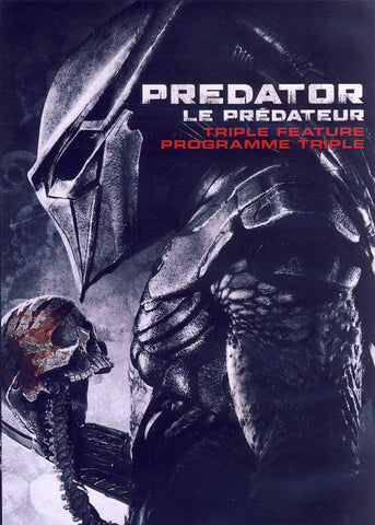 Predator (1-3) Triple Feature (Bilingual) DVD Movie