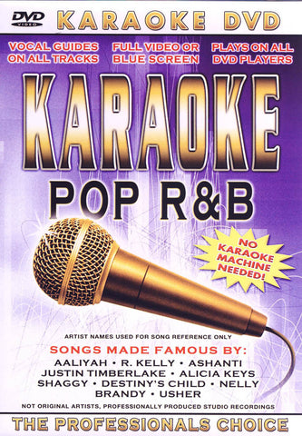 Karaoke - Pop R&B DVD Movie