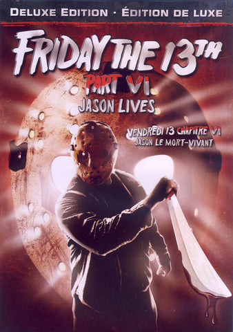 Friday the 13th - Part VI (6) - Jason Lives (Deluxe Edition) (Bilingual) DVD Movie