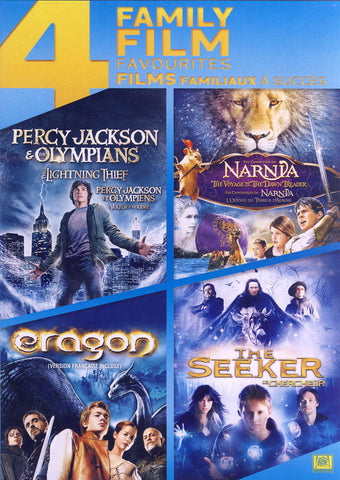Percy Jackson & The Olympians / The Chronicles Of Narnia / Eragon / The Seeker (Boxset) (Bilingual) DVD Movie