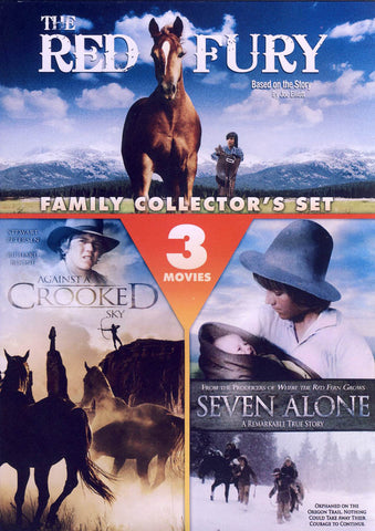 The Red Fury / Against a Crooked Sky / Seven Alone (3 Movies) DVD Movie