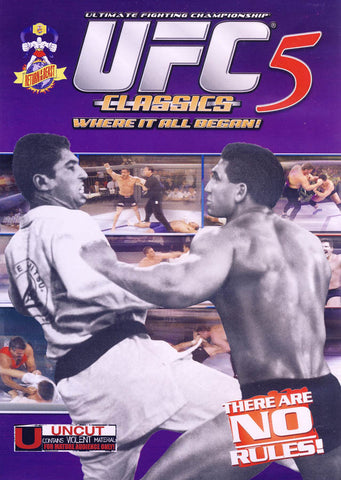 UFC - Ultimate Fighting Championship Classics - Vol. 5 (MAPLE) DVD Movie