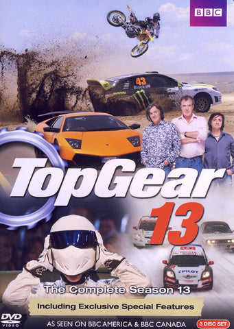 Top Gear 13 DVD Movie