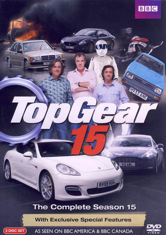 Top Gear 15 DVD Movie