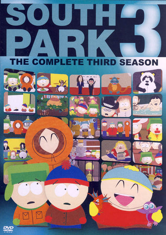 South Park - The Complete Third (3) Season DVD Movie