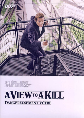 A View To A Kill (White Cover) (James Bond) (Bilingual) DVD Movie