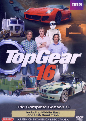 Top Gear 16 DVD Movie