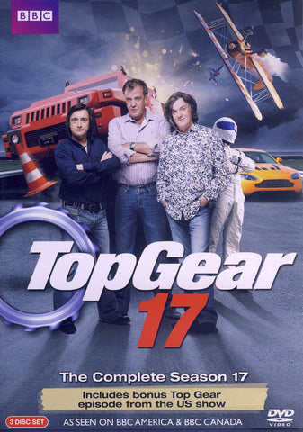 Top Gear 17 DVD Movie