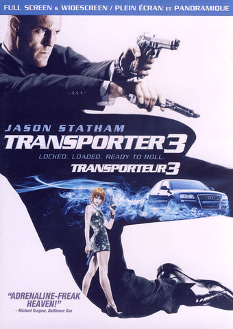 Transporter 3 (Widescreen/Fullscreen) (Bilingual) DVD Movie