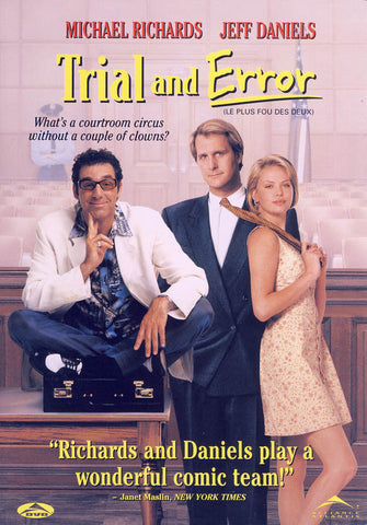 Trial and Error (Widescreen and Full Screen) (Bilingual) DVD Movie