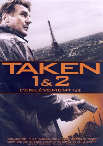 Taken ( 1 & 2 ) (Bilingual) DVD Movie