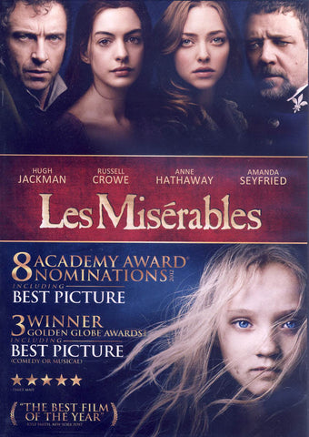 Les Miserables (Hugh Jackman) DVD Movie
