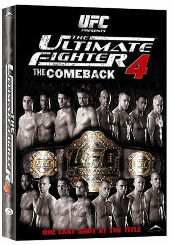 The Ultimate Fighter - 4 - The Comeback (Alliance) (Boxset) DVD Movie