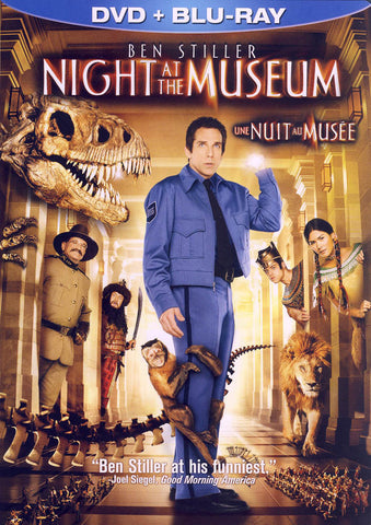 Night at the Museum (DVD + Blu-ray) (DVD Case) (Bilingual) DVD Movie