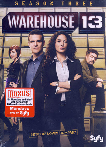Warehouse 13: Season Three (3) (Boxset) DVD Movie