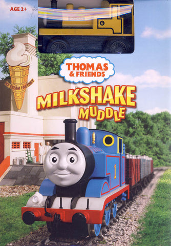 Thomas and Friends -Milkshake Muddle (with toy train) (Boxset) DVD Movie