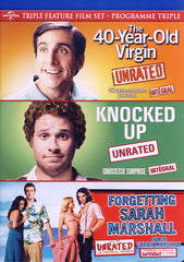 The 40-Year Old Virgin /Knocked Up / Forgetting Sarah Marshall (Triple Feature) (Bilingual)