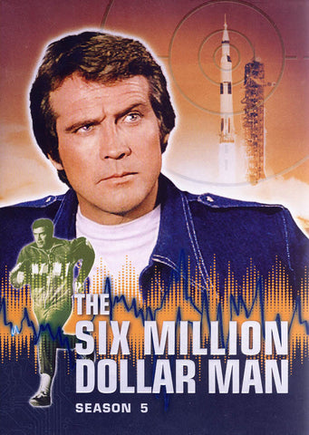The Six Million Dollar Man - Season 5 (Boxset) DVD Movie