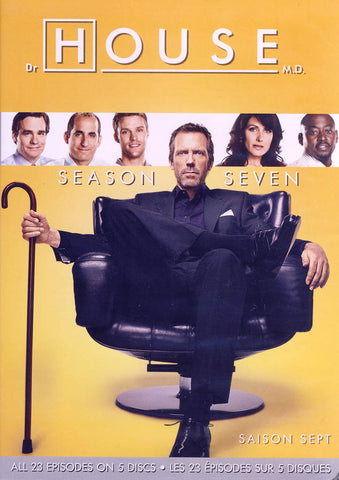 House, M.D. - Season Seven (7) (Bilingual) (Keepcase Boxset) DVD Movie