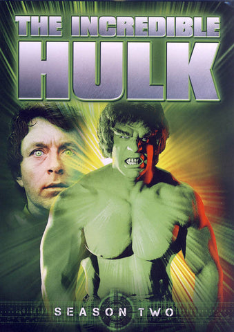 The Incredible Hulk - Season Two (2) (Keepcase) (Boxset) DVD Movie