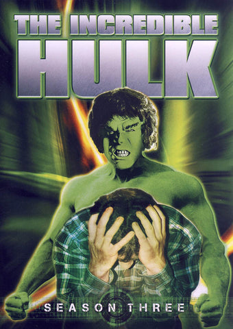 The Incredible Hulk - Season Three (3) (Keepcase) (Boxset) DVD Movie