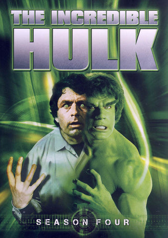 The Incredible Hulk - Season Four (4) (Keepcase) (Boxset) DVD Movie