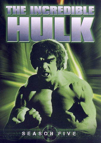 The Incredible Hulk - Season Five (5) (Keepcase) (Boxset) DVD Movie