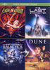 Flash Gordon / The Last Starfighter / Battlestar Galactica / Dune (4 Feature Films) DVD Movie