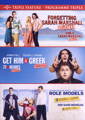 Forgetting Sarah Marshall / Get Him to the Greek / Role Models (Triple Feature) (Bilingual)