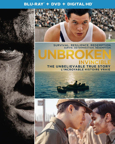 Unbroken (Blu-ray + DVD + Digital HD) (Bilingual) (Blu-ray) BLU-RAY Movie