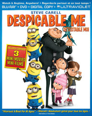 Despicable Me (Blu-ray + DVD + Digital Copy + UltraViolet Copy) (Bilingual) (Blu-ray)