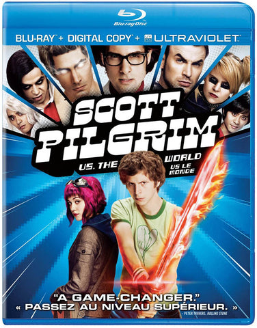 Scott Pilgrim Vs The World (Blu-ray + Digital Copy + UltraViolet) (Bilingual) (Blu-ray) BLU-RAY Movie