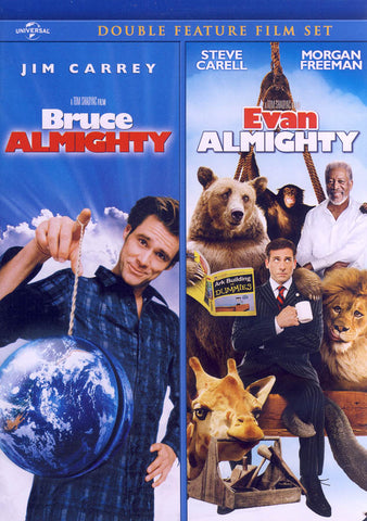 Bruce Almighty / Evan Almighty (Double Feature) DVD Movie