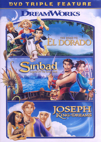 The Road to El Dorado / Sinbad: Legend of Seven Seas / Joseph: King of Dreams (DVD Triple Feature) DVD Movie
