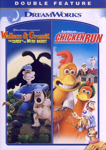 Wallace & Gromit: The Curse of the Were-Rabbit / Chicken Run (Double Feature) DVD Movie