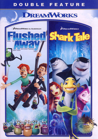 Flushed Away / Shark Tale (Double Feature) DVD Movie