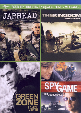 Jarhead / The Kingdom / Green Zone / Spy Game (Four Feature Films) (Bilingual) DVD Movie