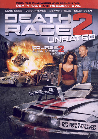 Death Race 2 (Unrated) (Bilingual) DVD Movie