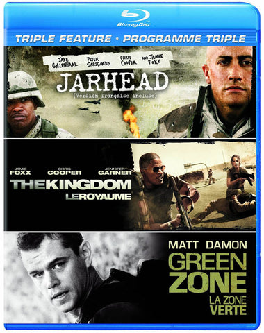 Jarhead / The Kingdom / Green Zone (Triple Feature) (Blu-ray) (Bilingual) BLU-RAY Movie