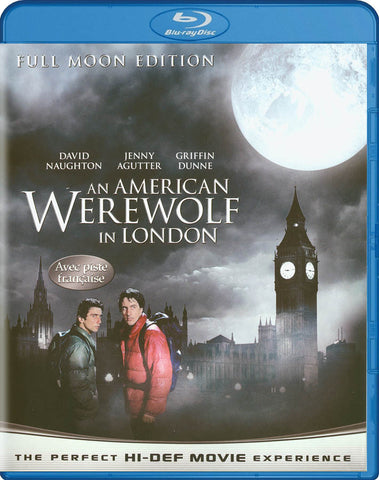 An American Werewolf in London (Full Moon Edition) (Avec piste Francaise) (Blu-ray) BLU-RAY Movie