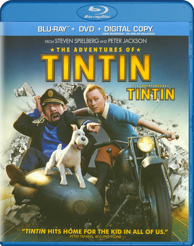 The Adventures Of Tintin (Blu-ray + DVD + Digital Copy) (Bilingual) (Blu-ray) BLU-RAY Movie