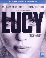 Lucy (Blu-ray + DVD + Digital HD) (Bilingual) (Blu-ray)